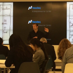David Nihill teaching at the Nasdaq Centre, San Francisco.