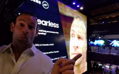 David Nihill speaking at Samsung in NYC about getting over your fears.