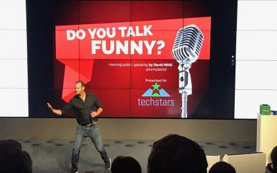 Speaking about hosting events and pitching at Google Ireland for Techstars