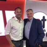 Great honour chatting with Pat Kenny about #doyoutalkfunny and how comedians are the world\'s true masters of public speaking NewstalkFM.