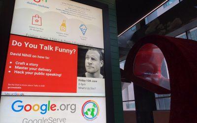 Author Talk at Google Dublin