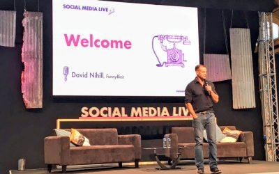 Hosting Social Media Live, Dublin